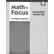 Math in Focus: Singapore Math Homeschool Answer Key Grade 1