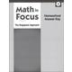 Math in Focus: Singapore Math Homeschool Answer Key Grade 3