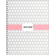 Academic Monthly/Weekly Planner Dots Design Hardcover August 2019 - July 2020