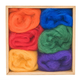 Woolpets Wool Roving (1.5 oz bag) - Rainbow