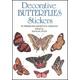 Decorative Butterflies Small Format Stickers