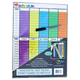 Magnetic Wet Erase Daily Family Schedule (11