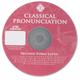 Second Form Latin Classical Pronunciation CD