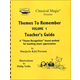 Themes to Remember 1 Teacher's Manual
