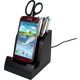 Smart Charge Micro Android USB Dock with Pencil Cup