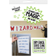 Wizard Wall Pre Cut Sheets - White Film (9