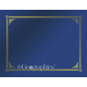 Blue Metallic Document Covers Package of 6