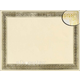 Flourish Gold Foil Certificates (Package of 12)