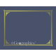 Navy Blue Document Covers Package of 6