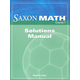 Saxon Math Course 1 Solutions Manual
