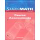 Saxon Math Course 2 Assessments