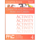Character & Skills for Home & Careers Chapter 4 Activities