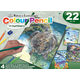 Colour Pencil By Numbers Art Activity Set - Sea Life