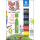 Kwik Stix Solid Tempera Paint - 6 count