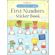 First Numbers Sticker Book (Get Ready for School Sticker Books)