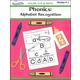 Color, Cut & Paste Phonics: Alphabet Recognition