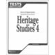 Heritage Studies 4 Tests 2ED