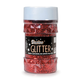 Glitter Shaker Top Jar - Red (4oz/76 grams)