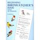 Beginning Birdwatcher's Book w/ 48 stickers