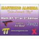 Mastering Algebra - Math 87 DVD (2nd or 3rd Edition)