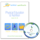 Physical Education & Nutrition Workbook w/ Online Videos