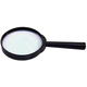 Round Magnifier 2x - Plastic Frame, 2.5