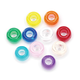 Pony Beads - Transparent Multicolored (9mm) 1000 beads