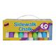 Sidewalk Chalk - 60 pieces