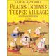 Easy-to-Make Plains Teepee Village