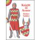 Knight in Armor Sticker Paper Doll