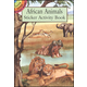 African Animals Small Format Stickers and Chart