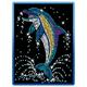 Sequin Art Blue Dolphin