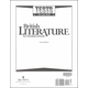 British Literature Tests 2ED UV