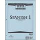 Spanish 1 Tests Answer Key 2ED