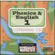 Phonics & English 1 Songs CD