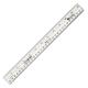 Safe-T Flat Flexible Clear Ruler (12in/30CM)