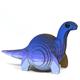 Eugy 3D Bronto Dodoland Model