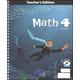 Math 4 Teacher's Edition with CD 3rd Edition