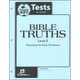 Bible Truths E Tests Answer Key 3ED