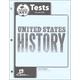 U.S. History Tests Answer Key 4th Edition