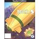 Math 5 Teacher Book & CD 3ED
