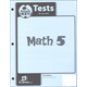 Math 5 Testpack Answer Key 3ED