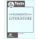 Elements of Literature Tests Answer Key 2nd Edition