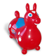 Rody Max - USA Red w/ white dots, blue saddle