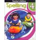 Spelling 4 Teacher Book & CD 2nd Edition