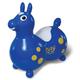 Rody Max - Blue w/ yellow dots, white saddle