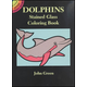 Dolphins Little Stained Glass Coloring Book