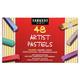 Square Chalk Pastels 48-color Set