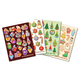 Scented Seasonal Stickers (Hot Chocolate, Gingerbread, Sugar Cookie, Pine Tree) 480 count