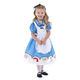 Alice In Wonderland Dress with Apron & Bow Medium